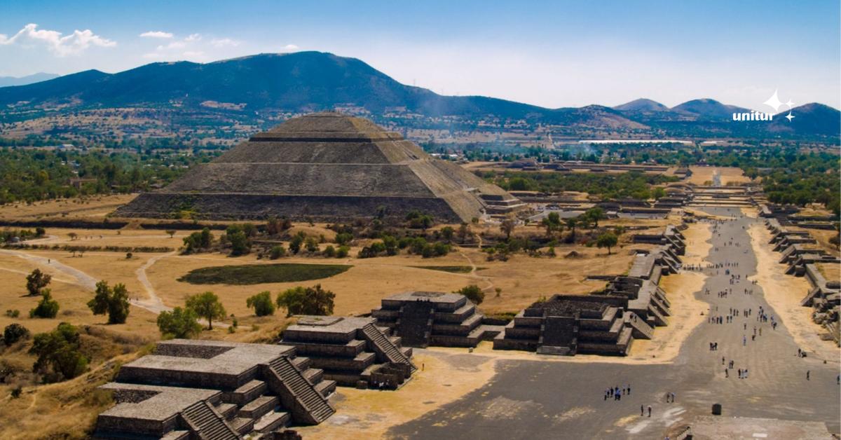 Os mistérios e os encantos de Teotihuacán, no México! - Unitur Agência de Viagens e Turismo - Nacional e Interncional