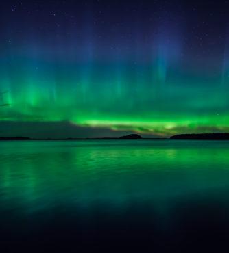 Caça à Aurora Boreal