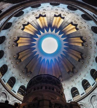 Cúpula da Basílica do Santo Sepulcro em Jerusalém