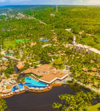 Reveillon Cana Brava Resort Bahia embarque em Porto Alegre com guia acompanhante