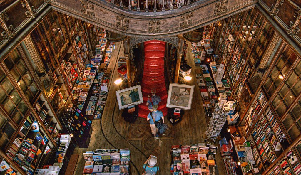 livraria famosa Lello