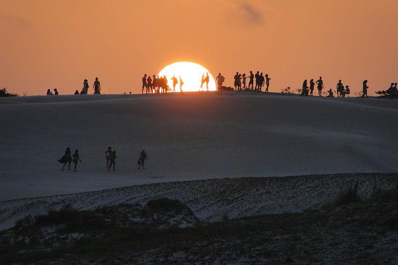 dunas e praia de itaúnas